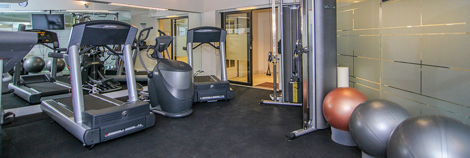 Fitness Centre in Calgary luxury condo The Estate